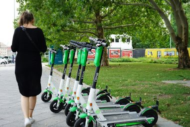 Electric Scooters Are Hitting the Streets Sooner than Predicted
